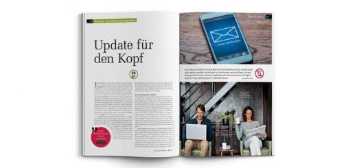 12. März 2017 | N-Kompass Magazin: Betriebliches Gesundheitsmanagement - Update für den Kopf