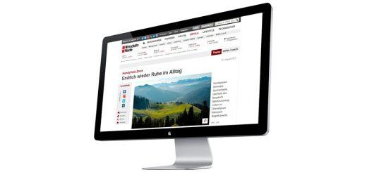 07. August 2017 | WirtschaftsWoche Online: Handyfreie Zone - Endlich wieder Ruhe im Alltag