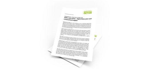 THE DIGITAL DETOX®   Presseinformation vom 27.08.2014