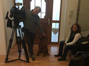 TV-Dreh mit dem SWR-Fernsehen für das Landesmagazin ZUR SACHE! Rheinland-Pfalz