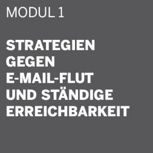 THE DIGITAL DETOX® | Seminar Modul 1: Strategien gegen E-Mail-Flut und ständige Erreichbarkeit